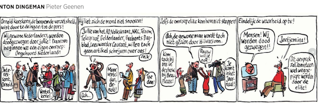 Trouw cartoon